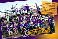 2014-2015 DCHS Pep Band